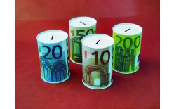 SKARBONKA METALOWA EURO 1015-1