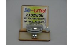 DZWONEK DREWNO 50-LATKO 988919