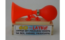 306509 TRĄBKA NA SEX 60-LATKU