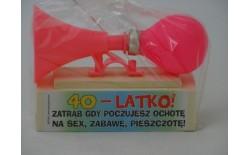 306509 TRĄBKA NA SEX 40-LATKO