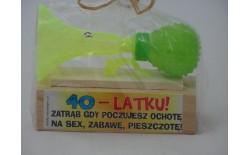 306509 TRĄBKA NA SEX 40-LATKU
