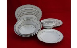 Serwis obiadowy ASTRA K601 ĆMIELÓW CHODZIEŻ