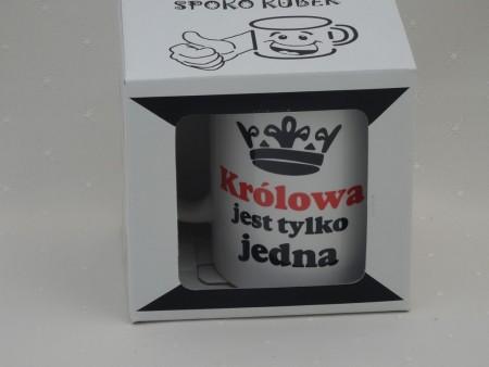 010521 KUBEK SPOKOQBEK KRÓLOWA JEST TYLKO JEDNA