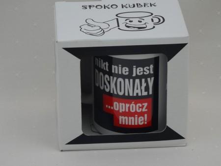 010521 KUBEK SPOKOQBEK NIKT NIE JEST DOSKONAŁY
