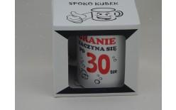 010521 KUBEK SPOKOQBEK BRANIE ZACZYNA SIĘ PO 30