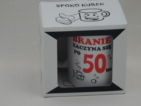 010521 KUBEK SPOKOQBEK BRANIE ZACZYNA SIĘ PO 50