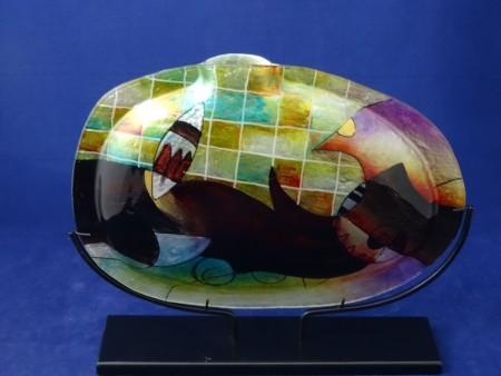 Wazon szklany P-MJ-M586-H